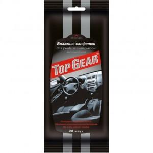 Салфетки влажные для салона автомобиля Top Gear