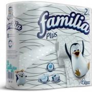 """Туалетная бумага белая """"Familia Plus"""" двухслойная"""