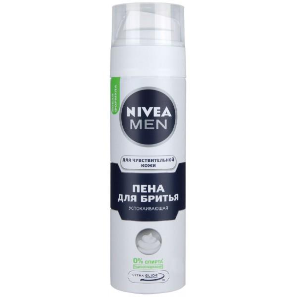 Пена для бритья для чувствительной кожи Нивея 200 мл