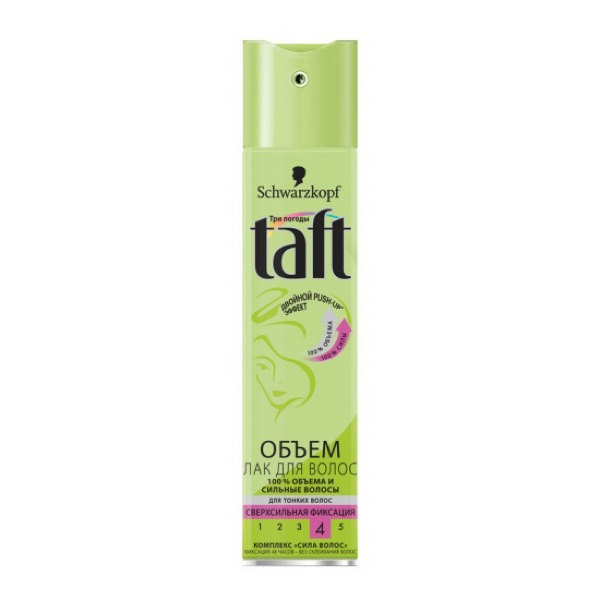 Лак для волос Taft 4 Объем