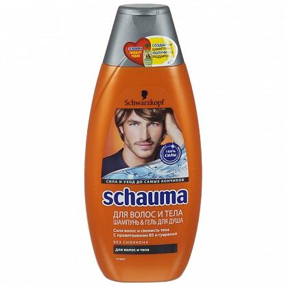 шаума для волос и тела