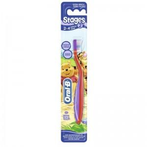Орал-би зубная щетка для детей 2-4 лет