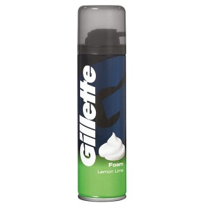 Пена для бритья Gillette Lemon Lime, 200 мл