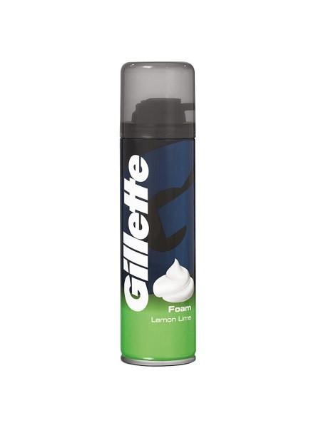 Пена для бритья Gillette Lemon Lime, 200 мл