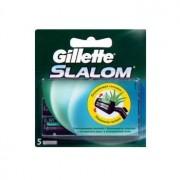 Сменные кассеты для бритья Gillette Slalom, 5 шт