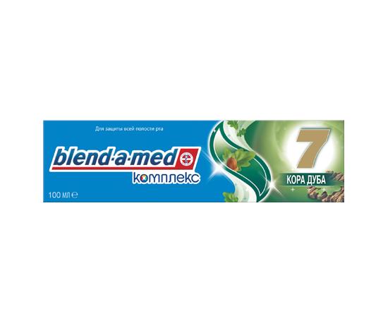 Зубная паста Блендамед Комплекс 7 Кора дуба