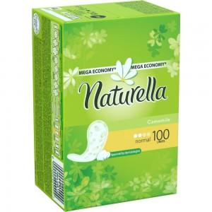 Прокладки Натурелла с ароматом ромашки, 100 шт