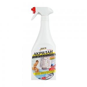 Средство для сантехники Акрилан жидкость для акрил. ванн, кабин