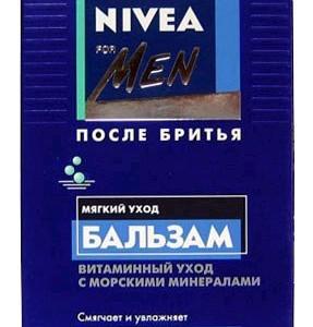 Nivea бальзам после бритья Мягкий уход для нормальной кожи 100 мл