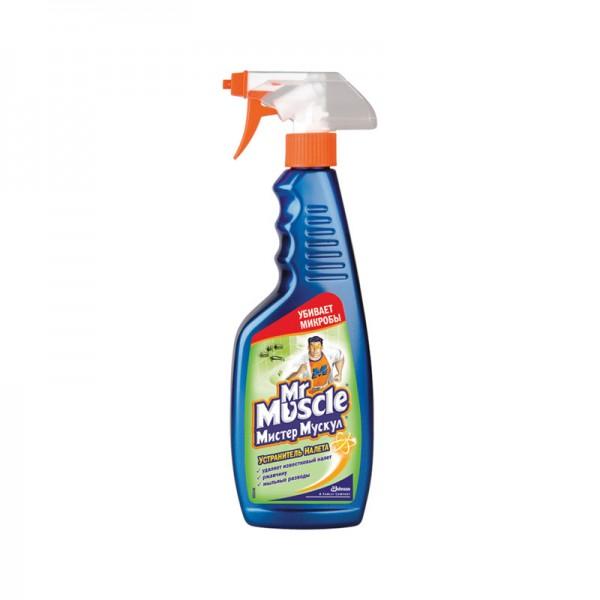 Мистер Мускул для мытья стекол с нашатырным спиртом 500 мл