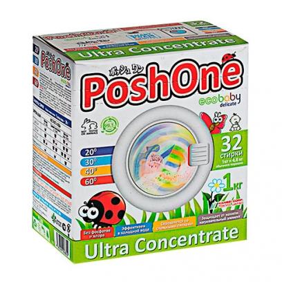 Концентрированный стиральный порошок Posh one для детских вещей 2,4 кг