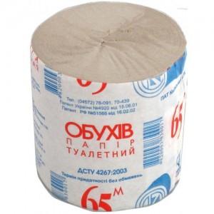 Туалетная бумага Обухов 65 м