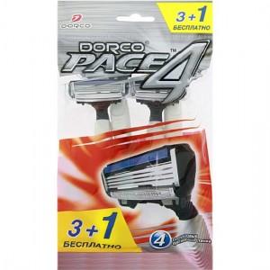 Станок для бритья DORCO PACE 4 с 4 лезвиями (4 шт)