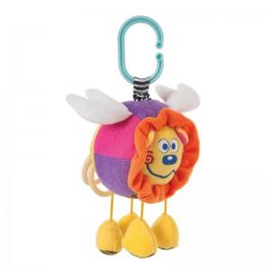 Развивающая мягкая игрушка подвеска Сказочный львенок