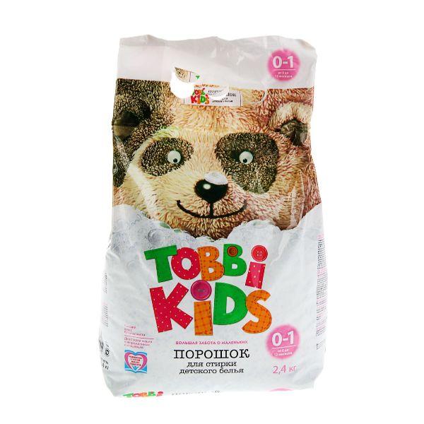 Детский стиральный порошок Тобби Кидс (0-12 мес), 2,4 кг