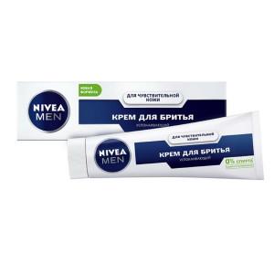 Нивея для бритья крем для чувствительной кожи, Nivea 100 мл