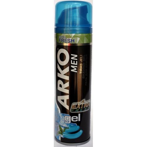 Гель для бритья Арко в ассортименте, Arko 200 мл