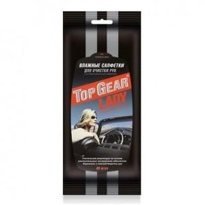 Салфетки для рук с антибактериальным эффектом Top Gear Lady 30 шт