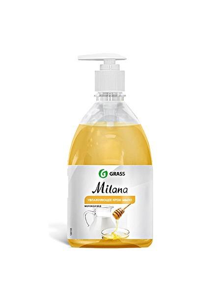 Средство для мытья рук Милана молоко и мед