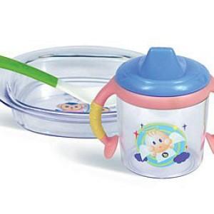 Детская посуда (набор)