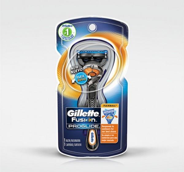 Gillette Бритва Fusion ProGlide с технологией FlexBall (1)