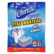 CHIRTON Супер отбеливающий порошок без хлора для белья, 75 гр