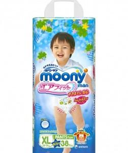 Подгузники трусики для мальчиков Moony Man