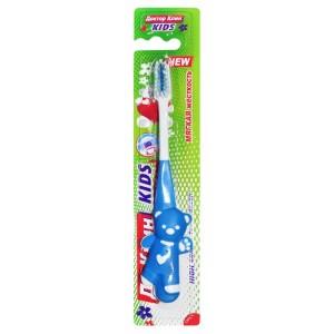 Детская зубная щетка мягкая Доктор Клин 3+
