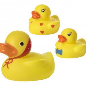 Набор игрушек для ванны Кря-кря, 3 шт