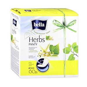 Белла ежедневные прокладки софт липа,Bella Panty Herbs Tilia, 60 шт
