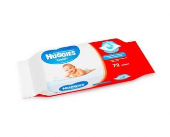 Влажные салфетки Хаггис Классик для детей, 72 шт