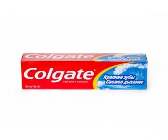 Colgate зубная паста Крепкие Зубы Свежее Дыхание