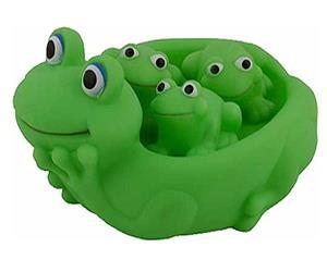 Игрушка для ванны Семейка лягушки