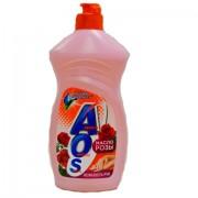 АОС (AOS) для мытья посуды с маслом розы, 500 мл