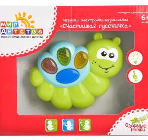 Музыкальная игрушка Счастливая гусеничка