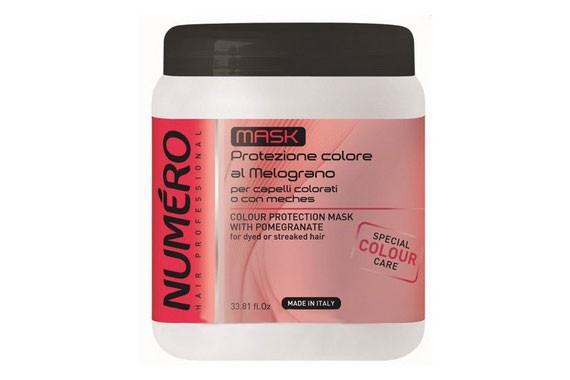 Brelil Numero Маска для защиты цвета волос с экстрактом граната 1 л