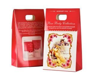 Набор Rose Body Collection Нежный уход: Бальзам для рук + Мыло банное