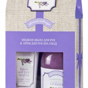 HERBAL & DERMA Collection LAVENDER: Жидкое мыло + Крем для рук