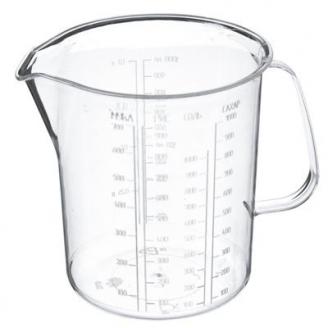 Кружка мерная, 1 л, пластик