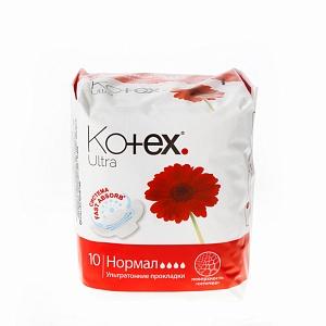 Прокладки Котекс (Kotex) Ultra нормал пов. сеточка 10шт