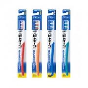 LION Зубная щетка Between Regular с косым срезом щетинок, средняя жесткость, 1 шт