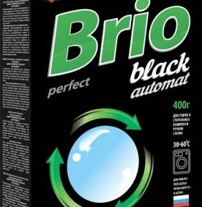 BRIO PERFECT BLACK AUTOMAT 400гр, карт/уп СМС