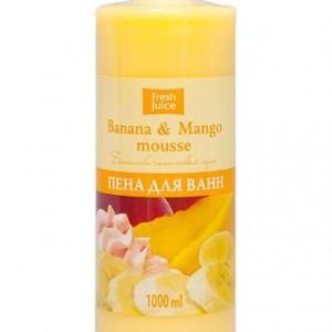 Пена для ванны Бананово Манговый Мусс