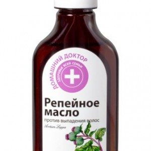 Репейное масло против выпадения волос Домашний Доктор