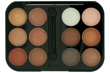Тени Anastasia Beverly Hills 12 Color Eyeshow Contour Cream Kit