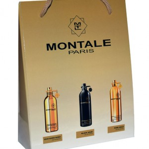 Набор сумочка Montale (Монталь) 3 шт по 15 мл (Aoud Queen Roses Black Aoud Pure Gold)