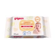 PIGEON детские влажные салфетки для рук, рта, пустышек и игрушек, 25 шт