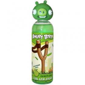 Гель для душа Angry Birds 200 мл Свежесть дня (зелёная свинка)
