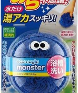 Чудоcпонж для ванной без использования моющих средств KOKUBO Ecomagic monster