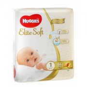 Хаггис Элит Софт 1 84 шт до 5 кг (Huggies Elite Soft)